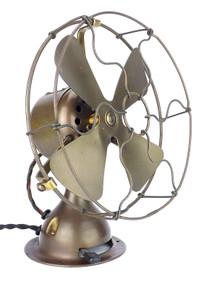 "8"" Emerson Trojan All Brass Fan"