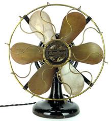 """Original 12"""" 6 Blade Western Electric Hawthorn Fan"""