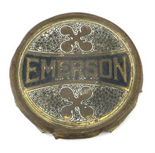 ORIGINAL EMERSON BRASS CAGE/GUARD BADGE DOUBLE PARKER BLADES Unpolished