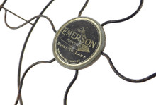 """Original 9"""" Emerson Steel Guard/Cage with Pyramid """"Built to Last"""" Logo"""