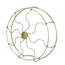"Original 16"" Drop Ring GE Brass Cage/Guard"