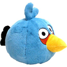 Angry Birds Blue Bird 5 Inch Deluxe Plush (No Sound)