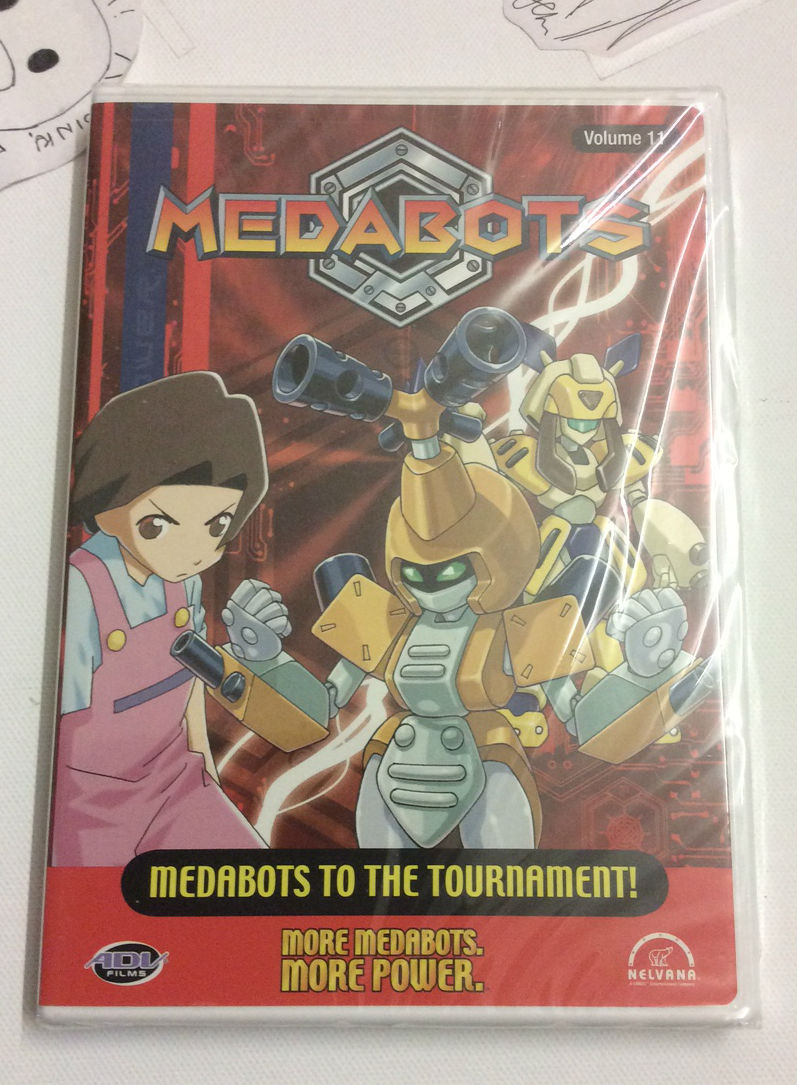 Medabots: Medabots to the Tournament Vol  11 DVD