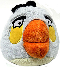 Angry Birds White Bird 5 Inch Deluxe Plush (No Sound)
