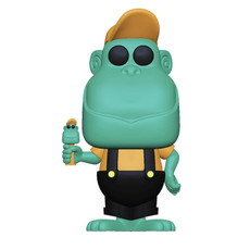 Ad Icons: Pez - Mimic The Monkey (Teal) Pop Figure