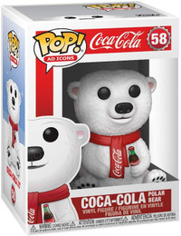 Ad Icons: Coca-Cola - Polar Bear Pop Figure