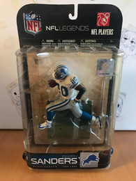 NFL Legends Barry Sanders Detroit Lions Figure