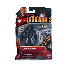 Iron Man 2 Comic Series Action Figure War Machine