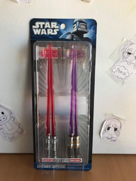 Star Wars Luke Mace Windu & Darth Maul Lightsaber Chopsticks