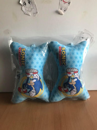 Sonic The Hedgehog: Sonic Cushion Car Chair Pillow (Set of 2)