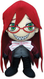 Black Butler Grell Cosplay Plush