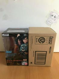 Dragon Ball Z Goku Spirit Bomb FiguartsZERO Figure (Genki Dama) w/brown Box