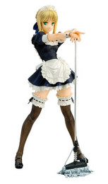 Fate/Hollow Ataraxia: Saber Maid Repaint 1/6 Scale Figure