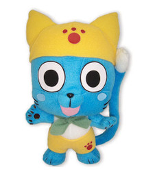 Fairy Tail Happy In Yellow Cosplay Soft Doll Plush