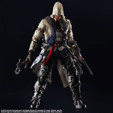 Assassin's Creed III Connor Kenway Play Arts Kai Action Figure