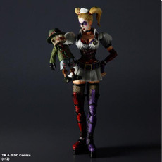 Batman Arkham Asylum: Harley Quinn Play Arts Kai Action Figure