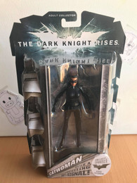Batman The Dark Knight Rises Movie Masters Collector Catwoman (Goggles Up) Figure