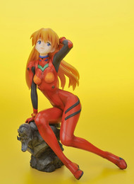 Evangelion 2.0 Asuka in Plug-In Suit Ani Statue Figure