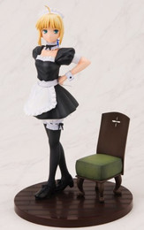 Fate Hollow Ataraxia: Saber Lovely Maid Ver 1/8 Scale PVC Figure