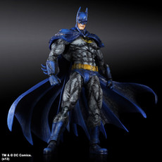 Batman Arkham City Batman 1970s Skin Play Arts Kai Action Figure (US only)