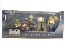 Fullmetal Alchemist Brotherhood Trading Arts Series 01 Set of 4