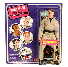 Ghostbusters: Peter Venkman Retro Action Figure SDCC 2010