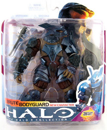 Halo 3 Series 6 Medal Edition Brute Bodyguard Action Figure