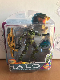 Halo Series 6 Medal Edition Saga Spartan Soldier Hayabusa Exclusive