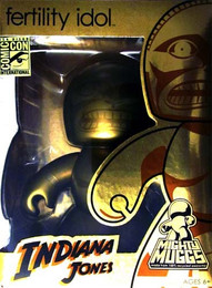 Indiana Jones Mighty Muggs Fertility Idol Action Figure SDCC 2008 Exclusive