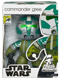 Star War Mighty Muggs: Commander Gree Action Figure SDCC 2008 Exclusive