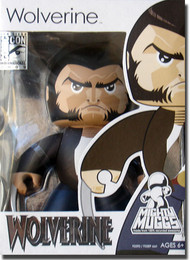 Marvel Might Muggs: Wolverine Action Figure SDCC 2009 Exclusive