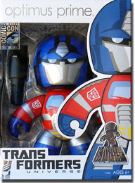 Transformers Mighty Muggs: Optimus Prime Figure SDCC 2009 Exclusive