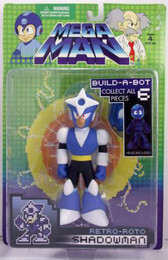 Megaman: Retro Roto Shadow Man Action Figure