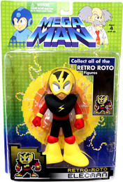 Megaman: Retro Roto ElecMan Action Figure