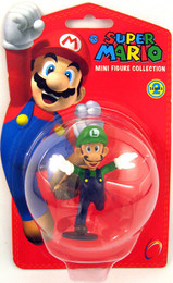 Nintendo Super Mario 2 inches Luigi Mini Figure