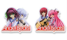Angel Beats! Girls Pins (Set of 2)