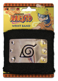 Naruto Leaf Village Metal Sign Sweatband