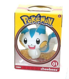 Pokemon Cheebees Vinly Series 1 Pachirisu Action Figure