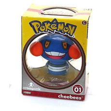 Pokemon Cheebees Vinly Series 1 Croagunk Action Figure