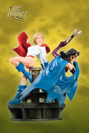 Power Girl and Huntress: Legacy Statue Figure