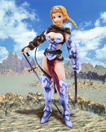 Queens Blade: Reina Exiled Warrior DX Variant Non-Scale Figure