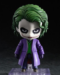 Batman Dark Knight Joker Nendoroid # 566 Action Figure (Villain's Edition)