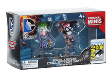 DC Comics The Joker & Harley Quinn Exclusive Mini Figure 2-Pack