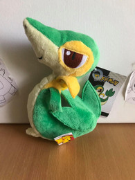 Pokemon Black & White Snivy Doll Plush