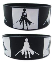 Attack on Titan: Eren Dark & Light Silhouette Wristband