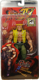 Street Fighter 4: Guile in Charlie Costume Action Figure SDCC 2009 Exclusive