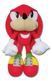 Sonic The Hedgehog Knuckles Doll Plush