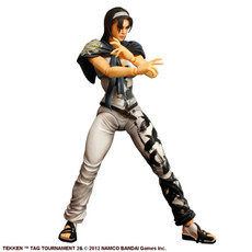 Tekken Tag Tournament 2: Jun Kazama Play Arts Kai Action Figure