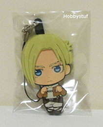 Attack on Titan Part 2 Rubber Straps Picktami! Changeable Face Annie Leonhart