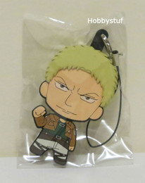 Attack on Titan Part 2 Rubber Straps Picktami! Changeable Face Reiner Braun